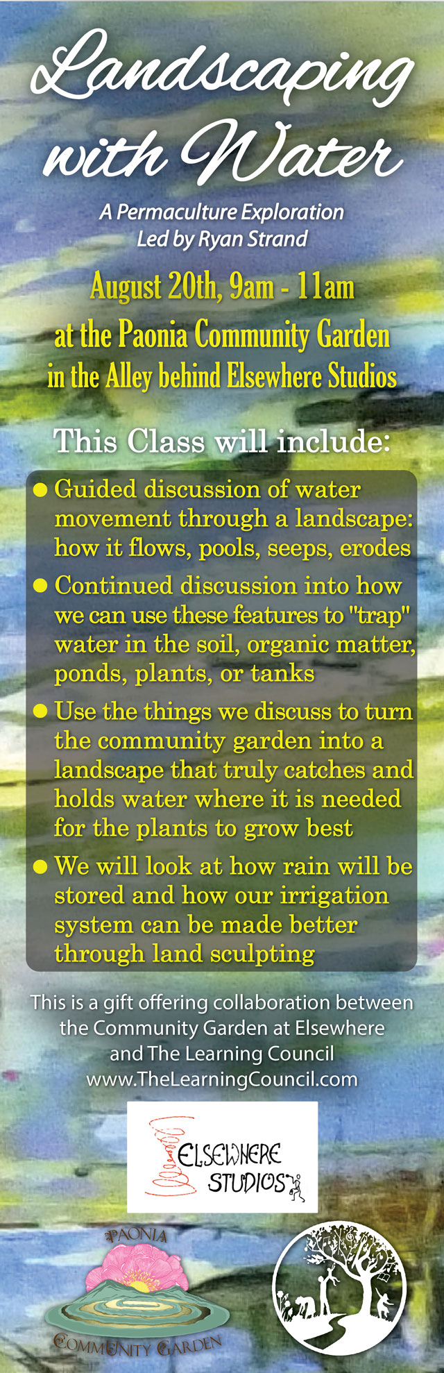 Landscaping with Water poster image