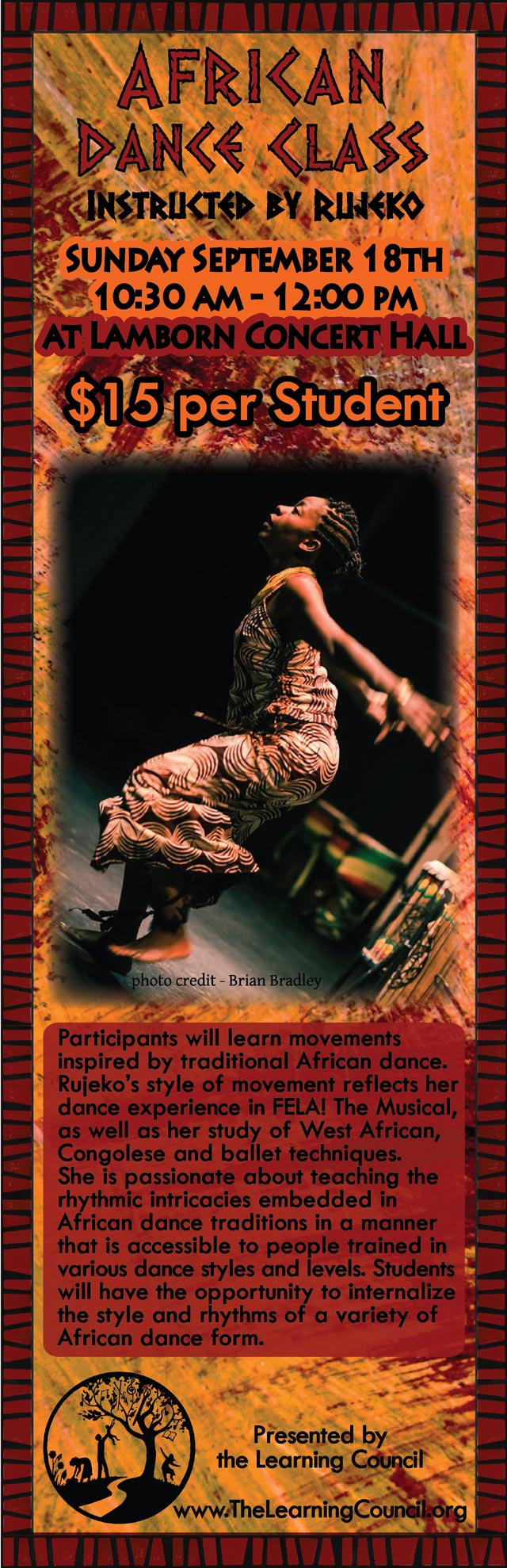 African Dance Class poster image