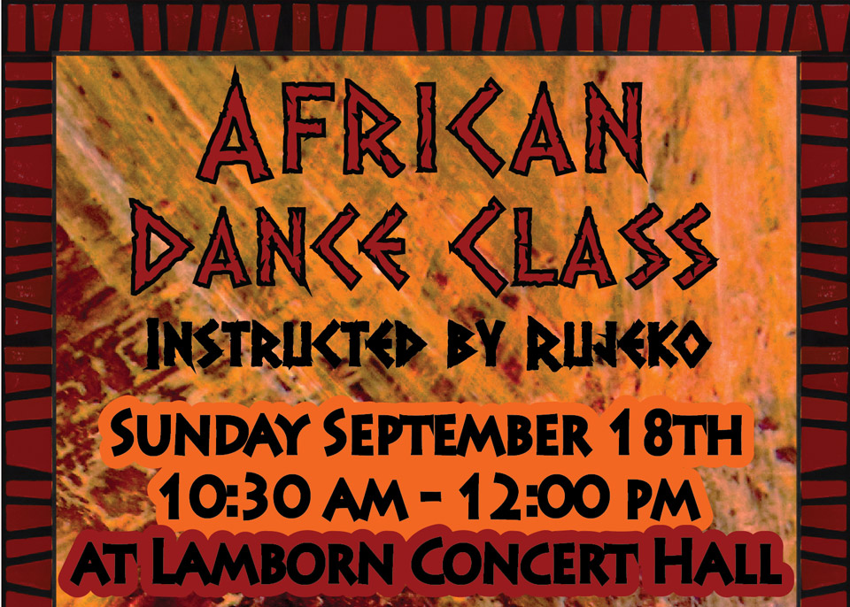 African Dance Class image