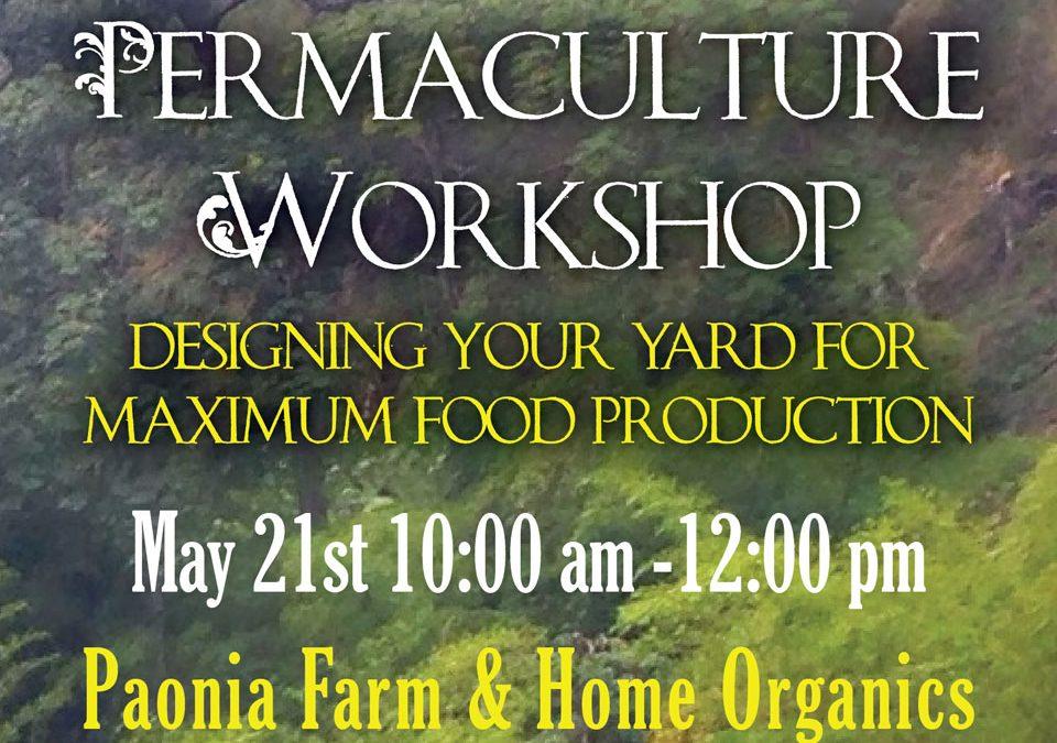 2016 Permaculture Design