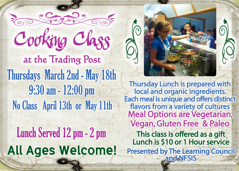 2017 Spring Cooking Class featured image