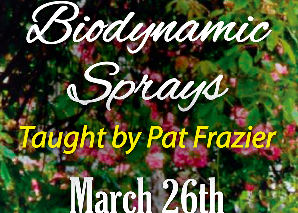 2017 Biodynamic Sprays featured image