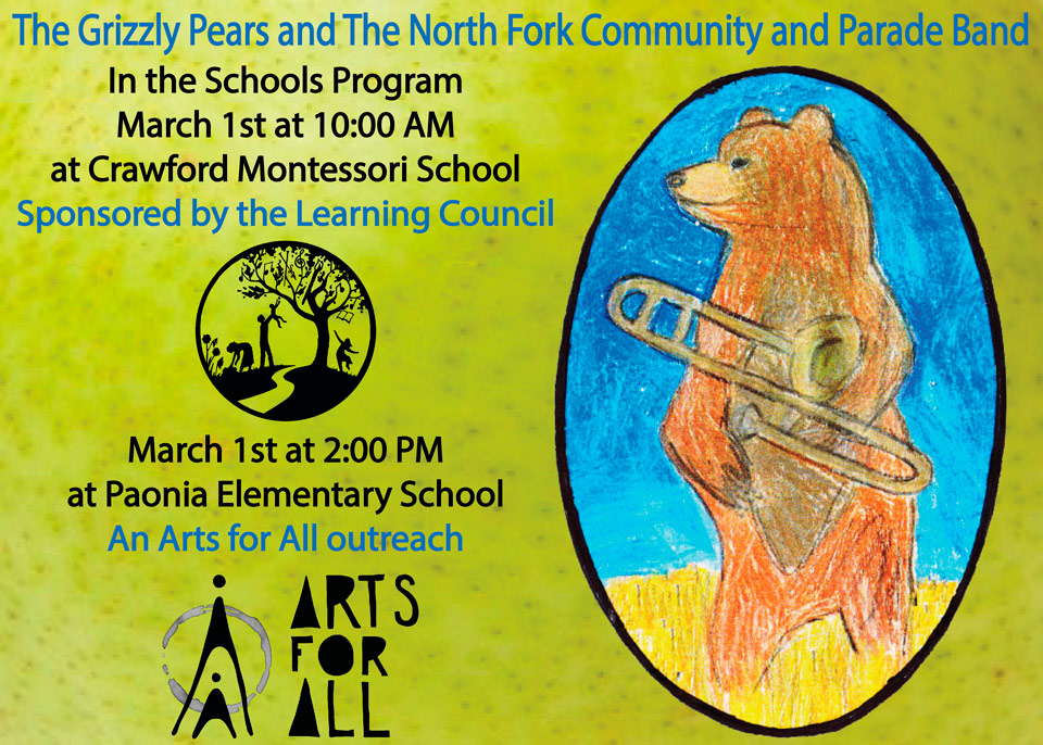 Grizzly Pears Arts for All image