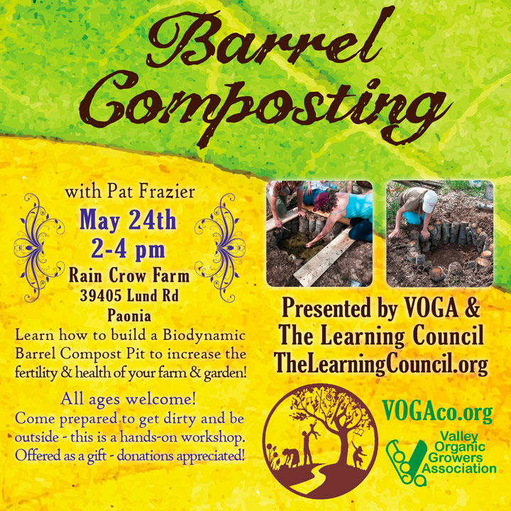 Barrel Composting poster