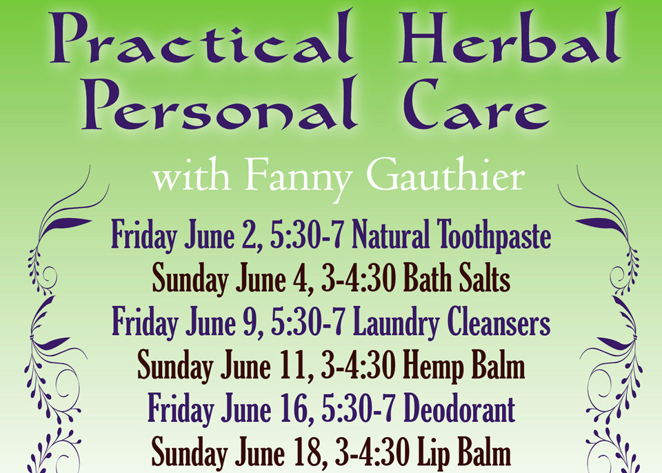 Practical Herbal Personal Care
