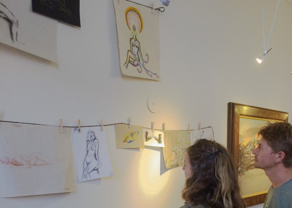 Final Friday Frolic Life Drawing gallery image