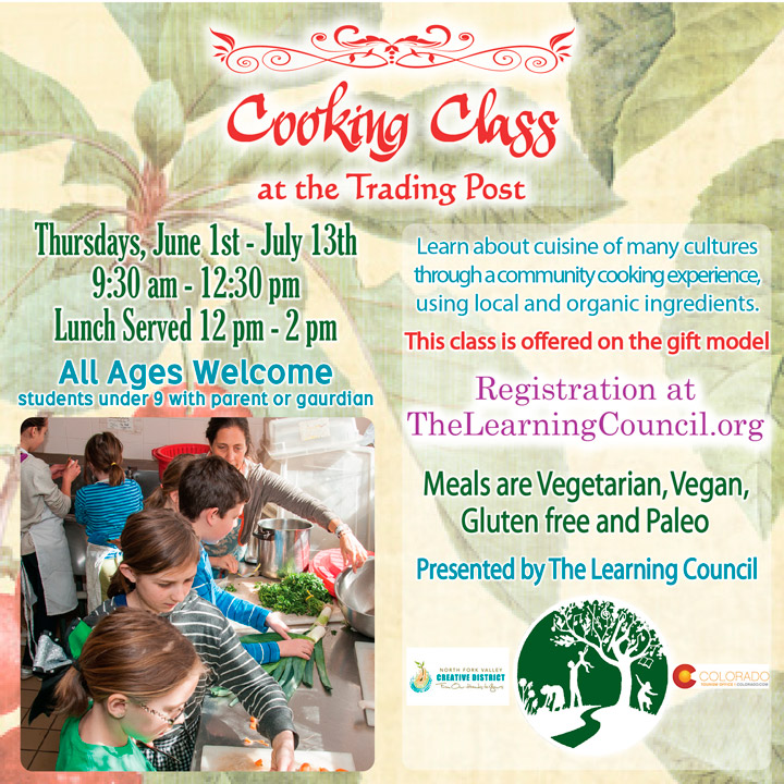 Cooking Class in June poster
