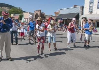 Community and Parade Band at Cherry Days
