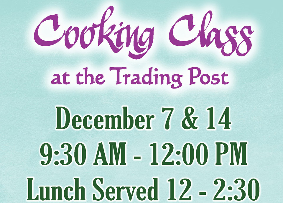 December Cooking Class