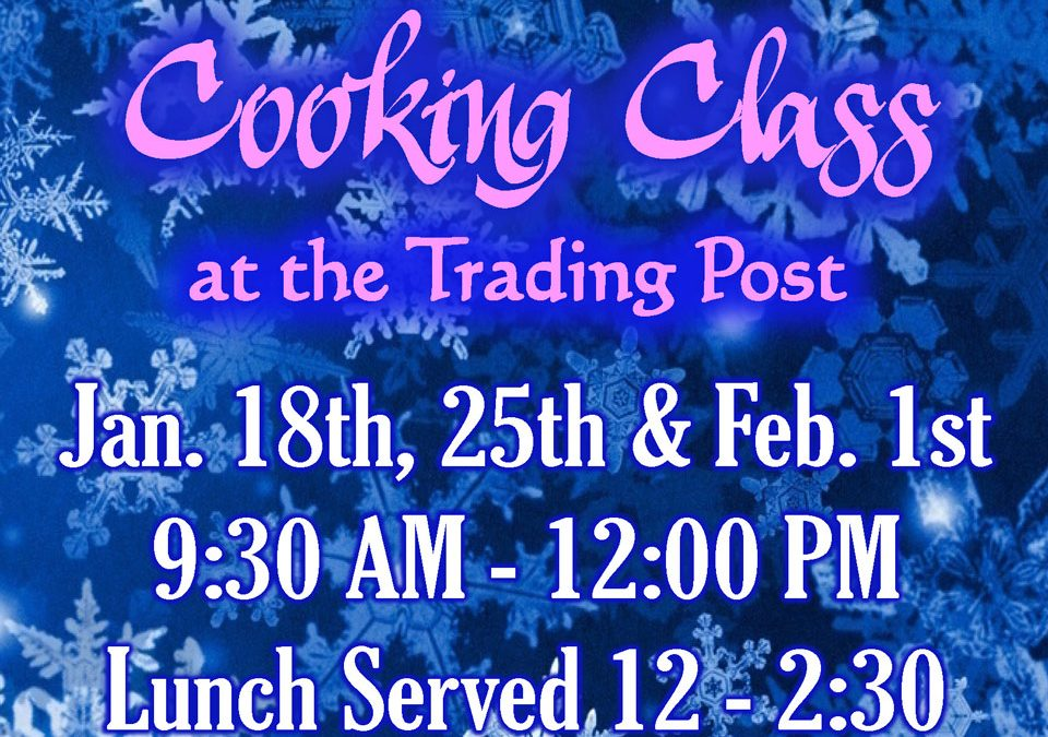 January Cooking Class