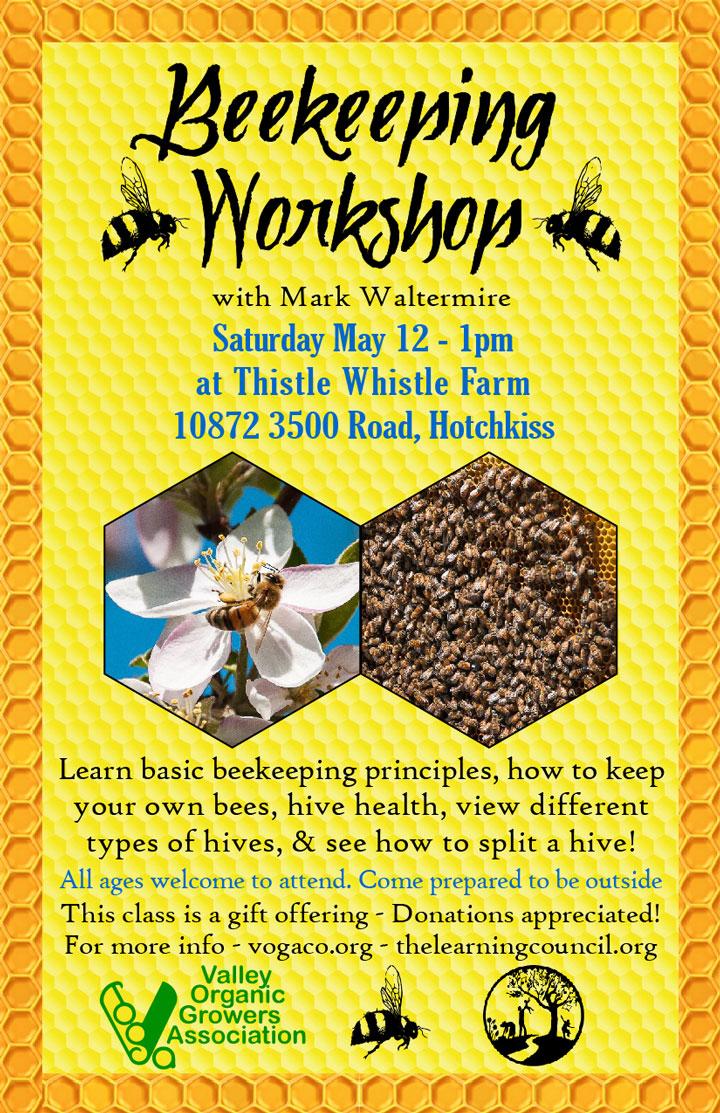 Beekeeping Workshop poster