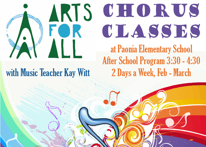 Arts For All - Chorus Classes featured image