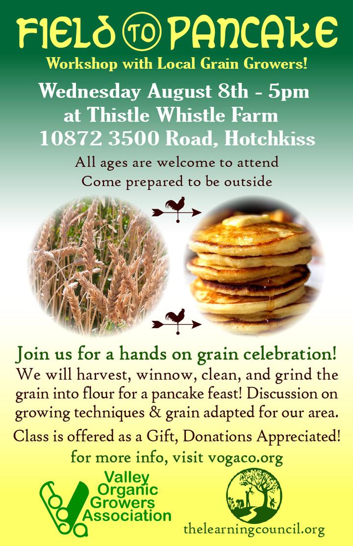 Field to Pancake poster