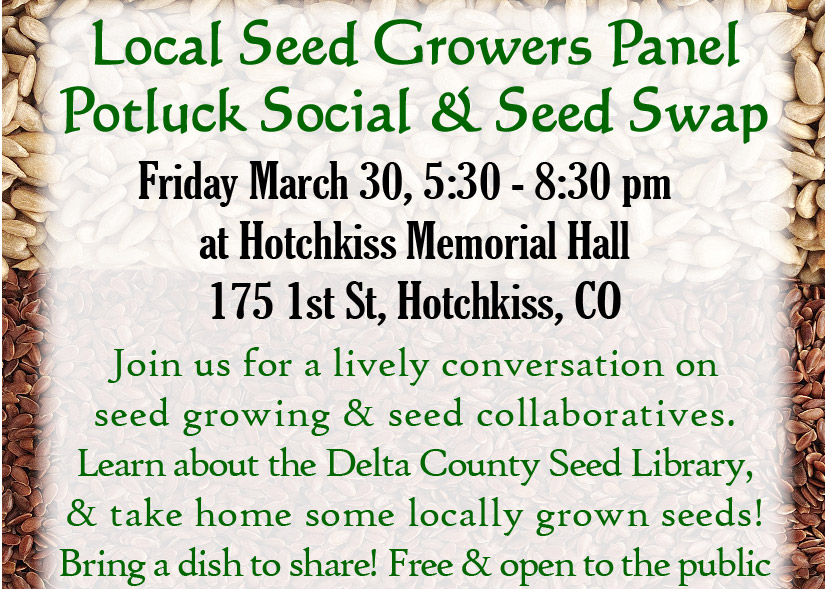 Local Seed Growers Panel