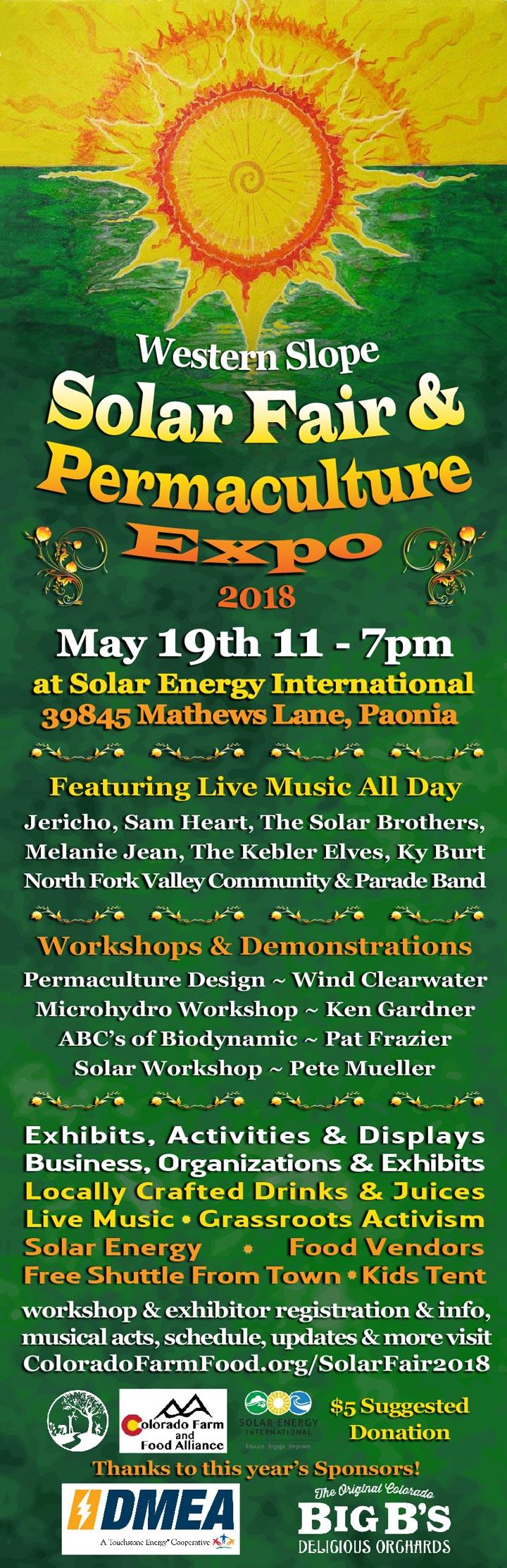 Solar Fair poster