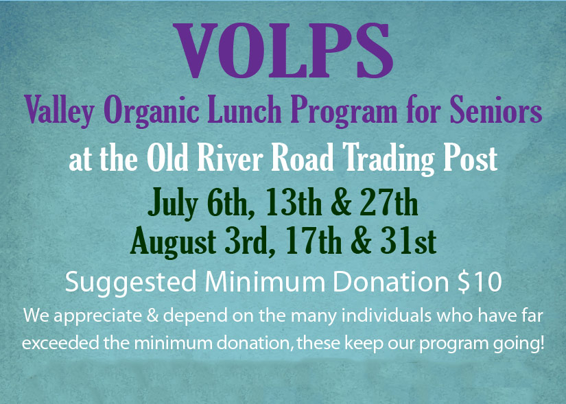 Valley Organic Lunch Program for Seniors featured image