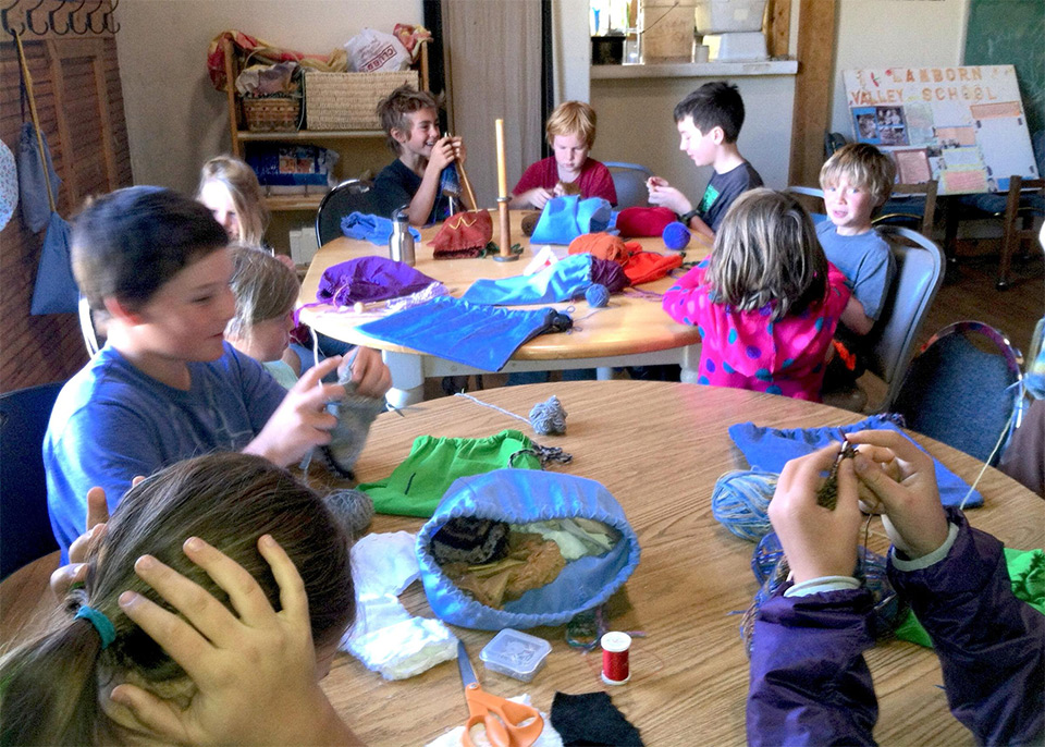 Image of practical arts class