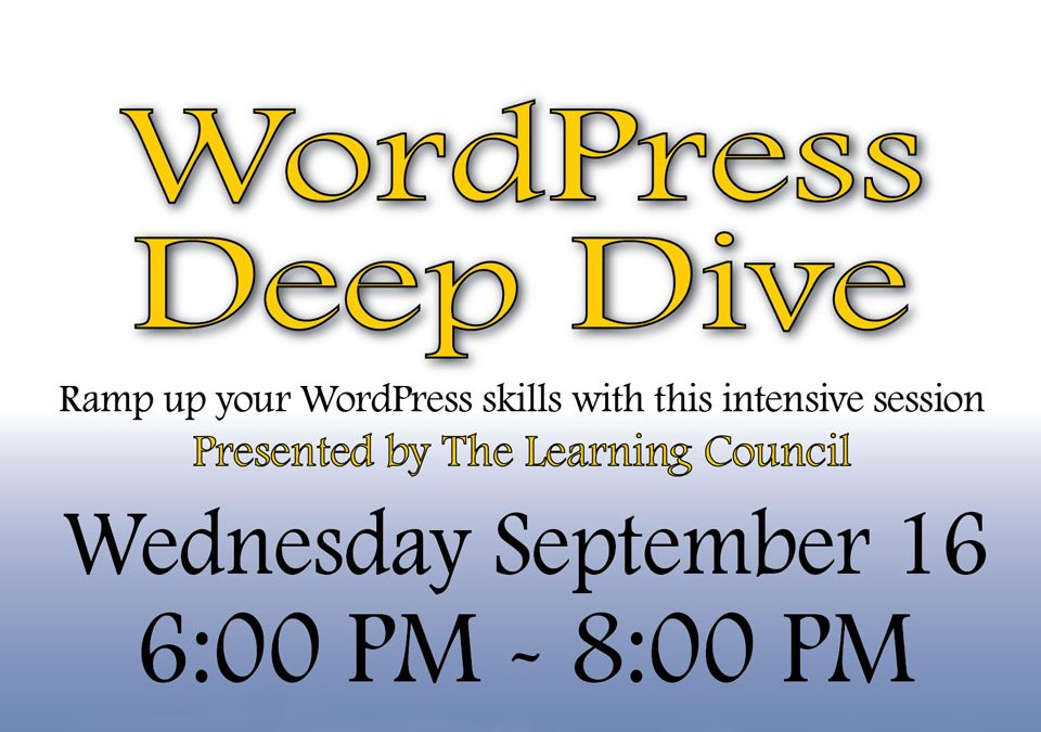 WordPress Deep Dive