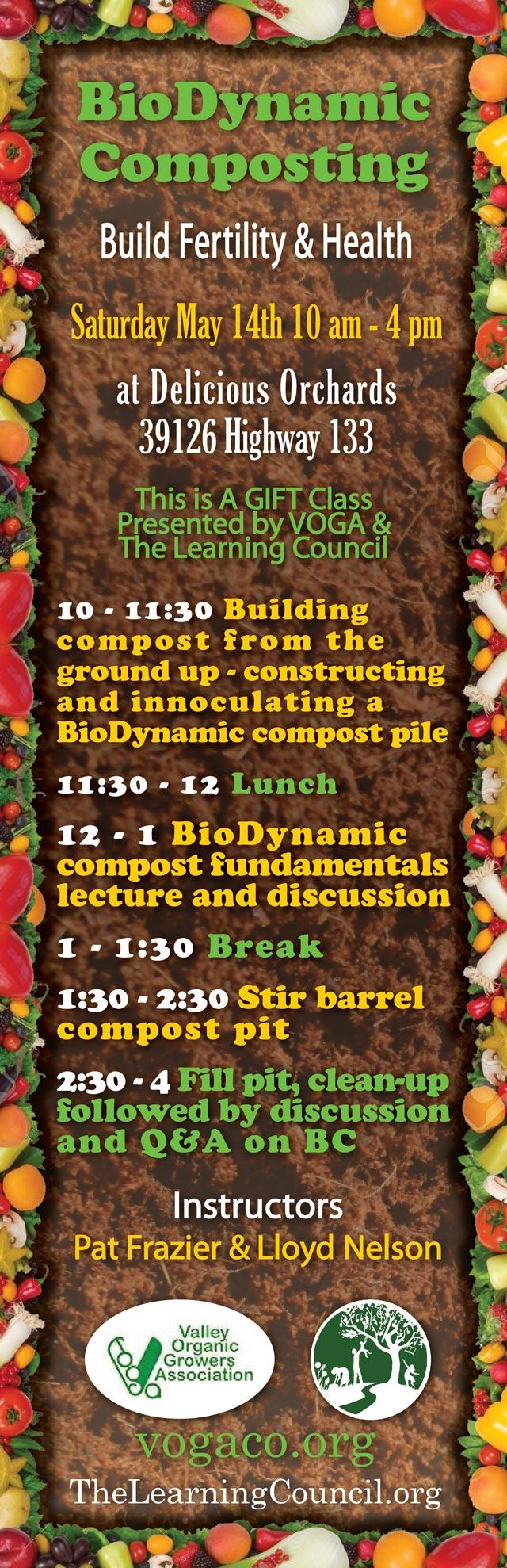 Biodynamic Composting poster