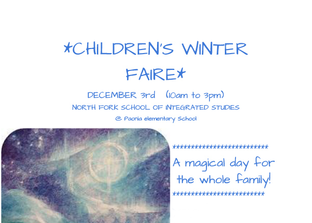 Children's Winter Faire