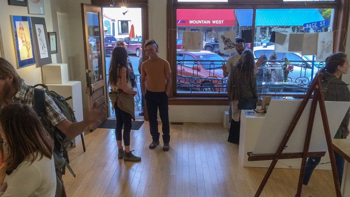 Final Friday Frolic – Life Drawing Gallery