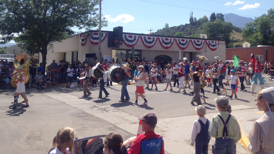 North Fork Valley Community and Parade Band at Cherry Days