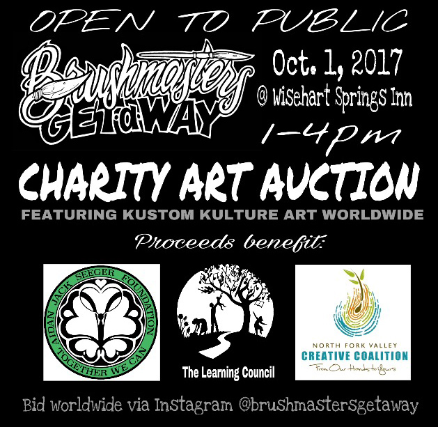 Artist Retreat Charity Auction