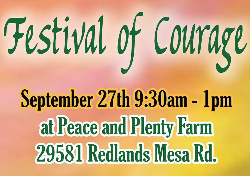 Festival of Courage – 2017