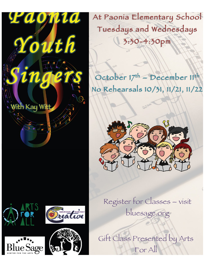 Paonia Youth Singers image