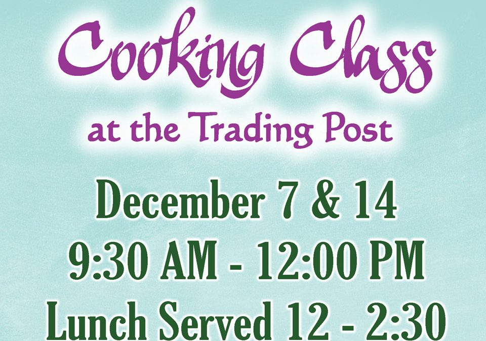 December Cooking Class
