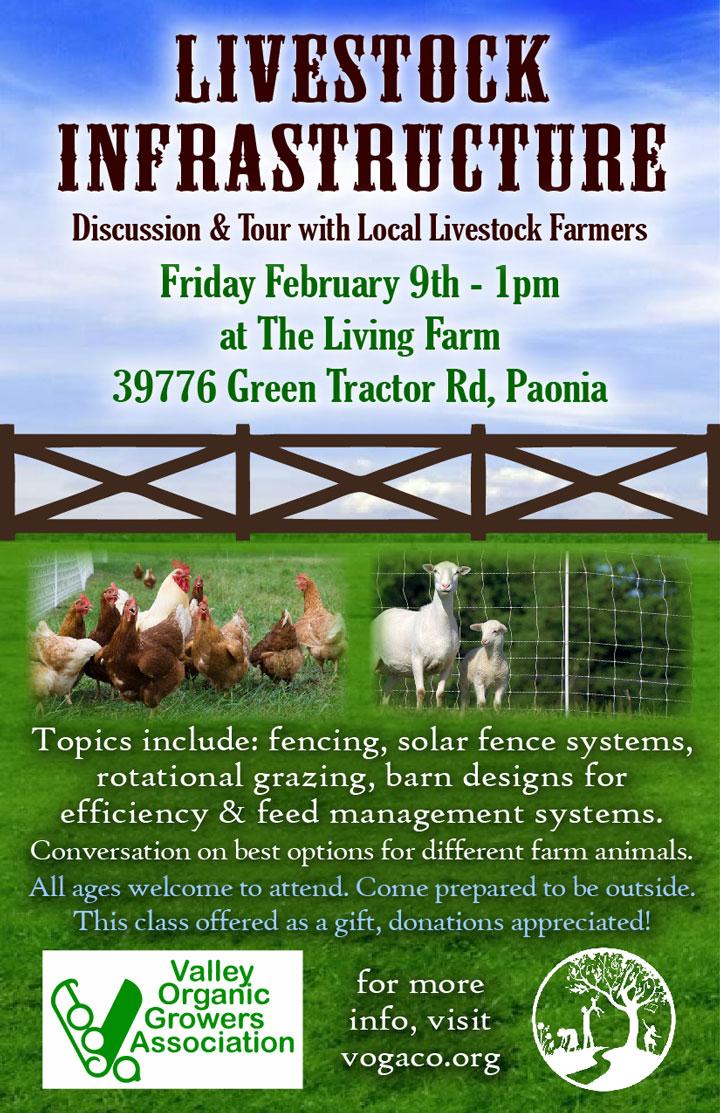 Livestock Infrastructure poster