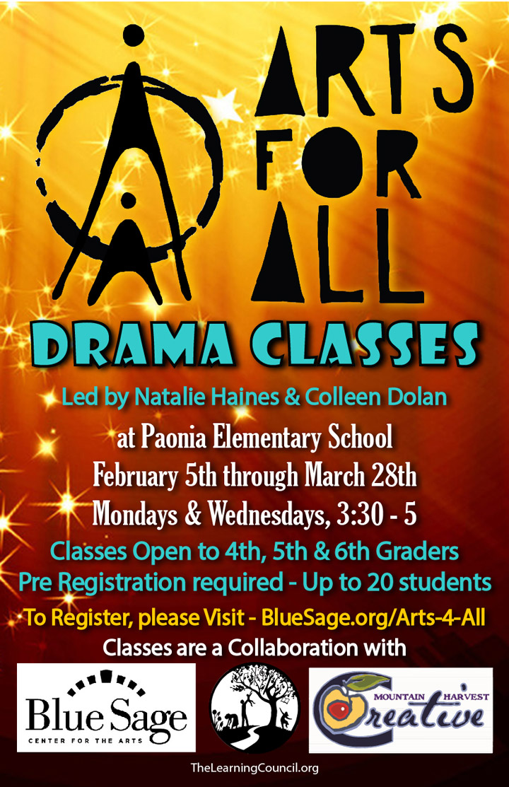 Arts For All - Drama Classes poster