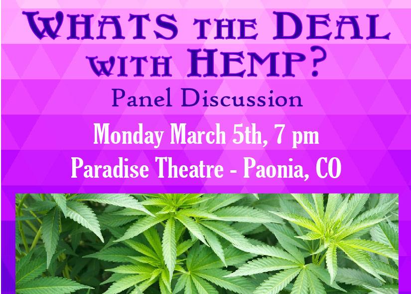 Hemp Panel Discussion