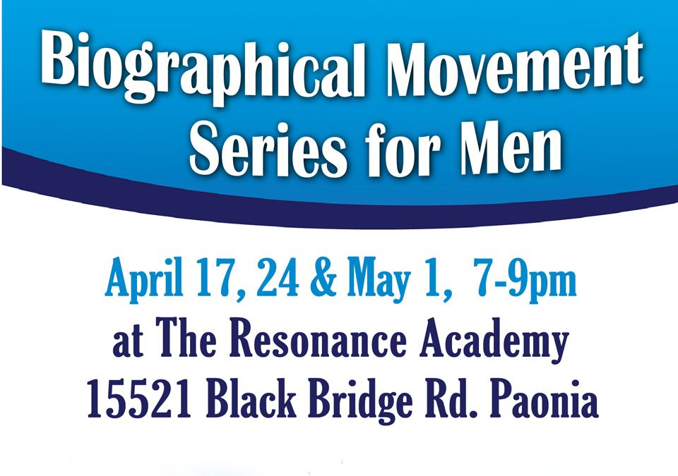Biographical Movement Series for Men