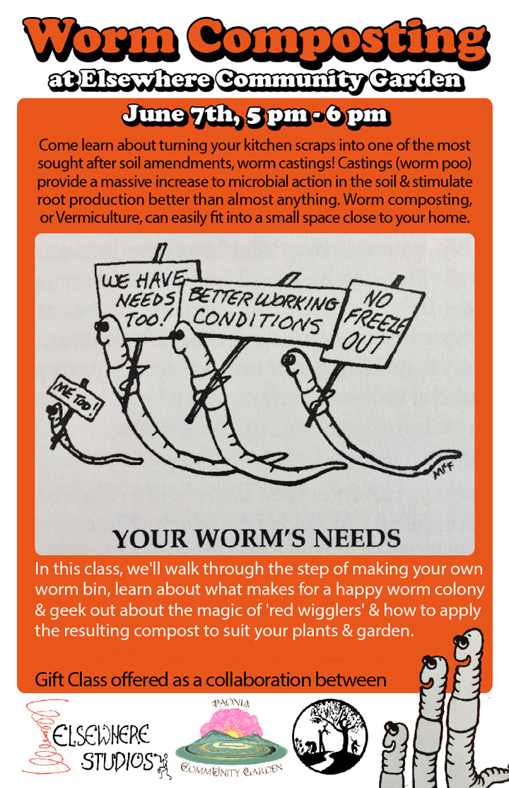 Worm Composting poster