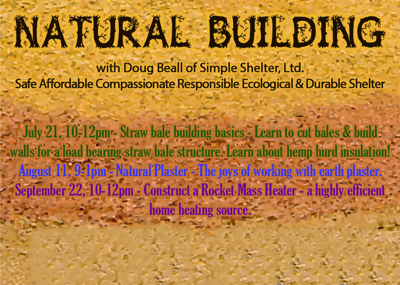 Natural Building Workshops