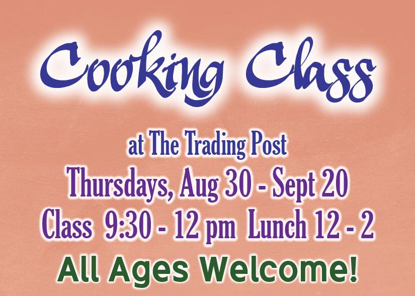 September Cooking Class