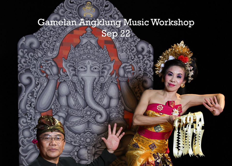 Gamelan Angklung Music Workshop