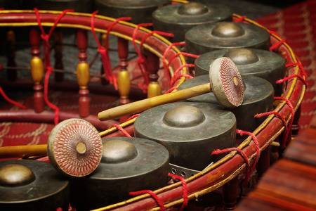 Gamelan Angklung Music Workshop gong image