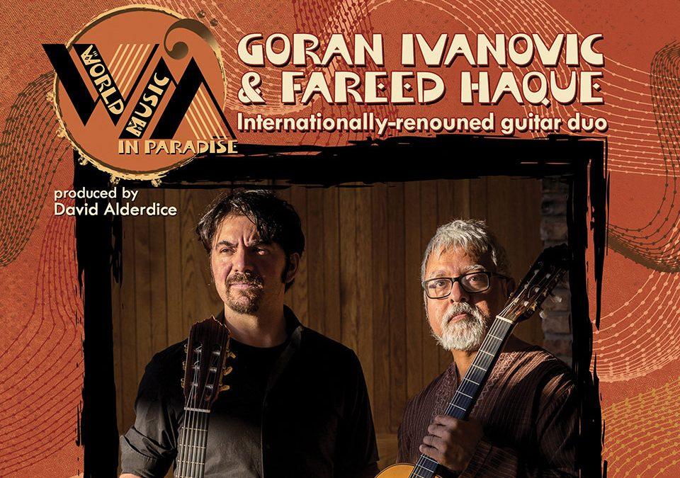 Goran Ivanovic and Fareed Haque