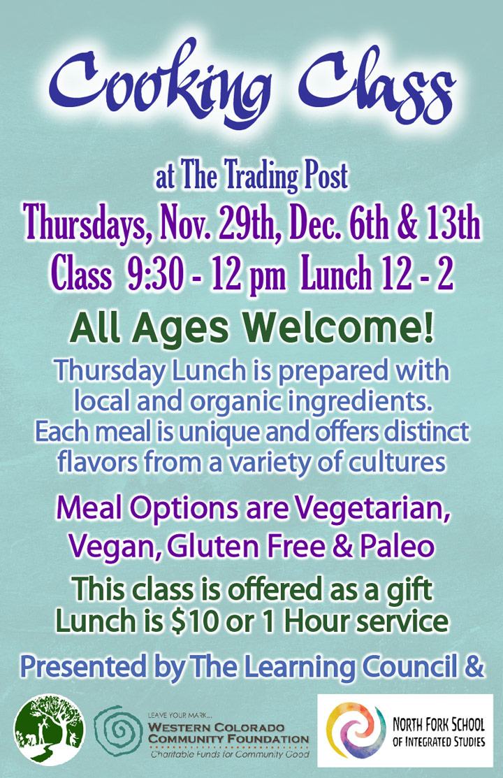 December Cooking Class image