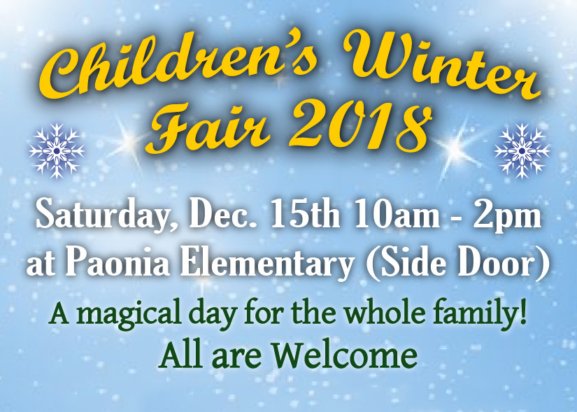 Children's Winter Fair