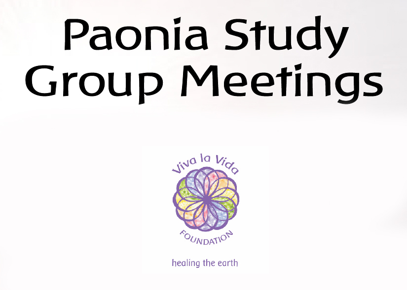 Paonia Study Group Meetings