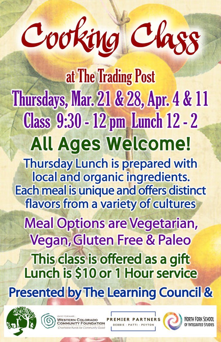 Spring Cooking Class poster