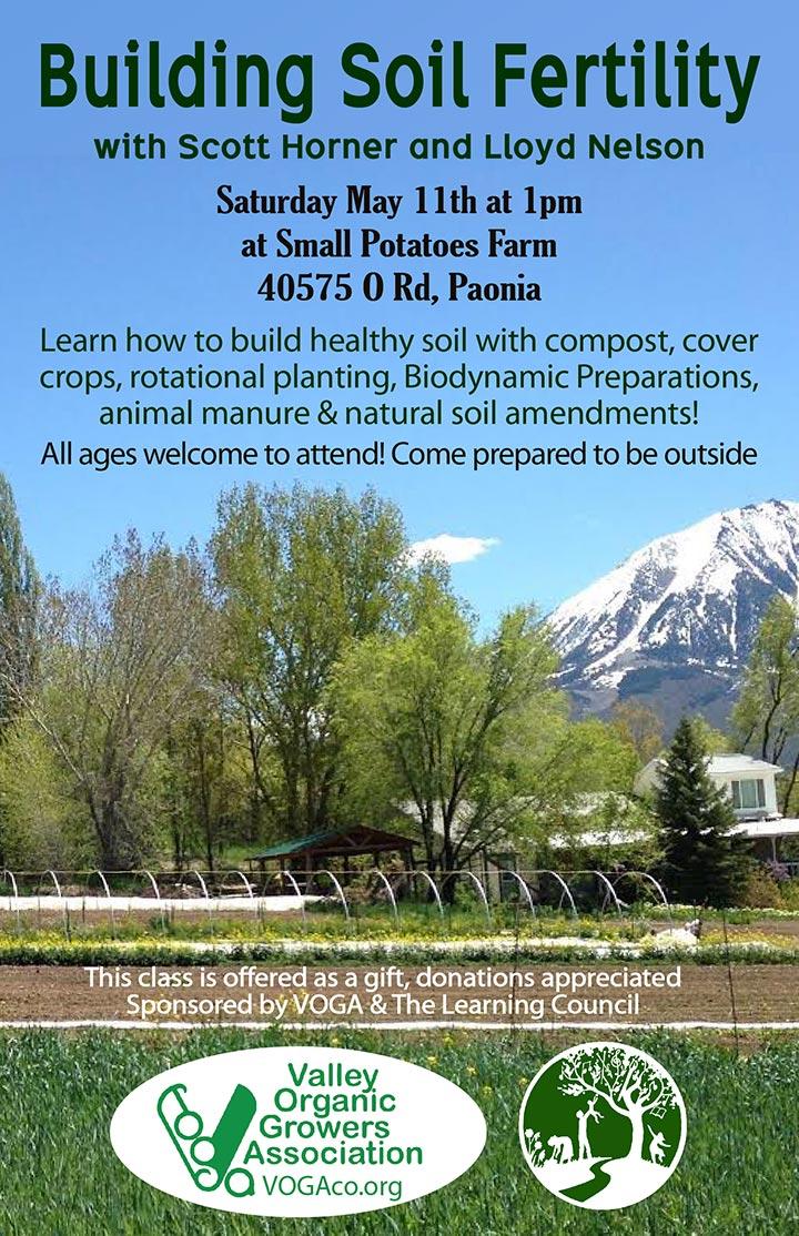 Building Soil Fertility poster