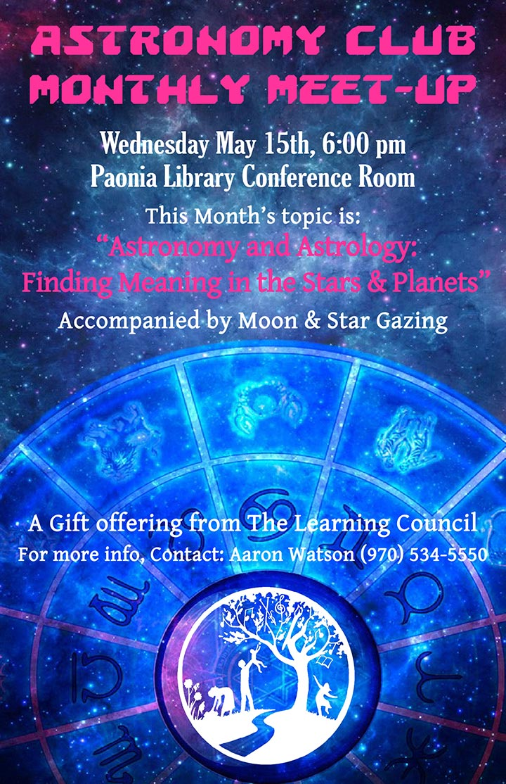 Astronomy Club poster