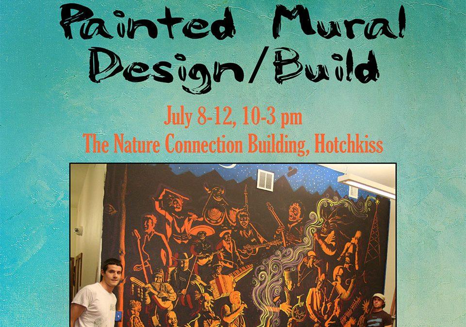 Painted Mural Design