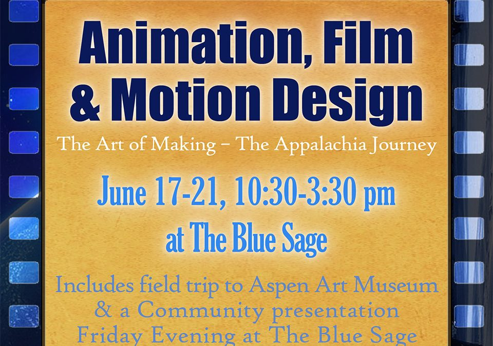Animation, Film and Motion Design