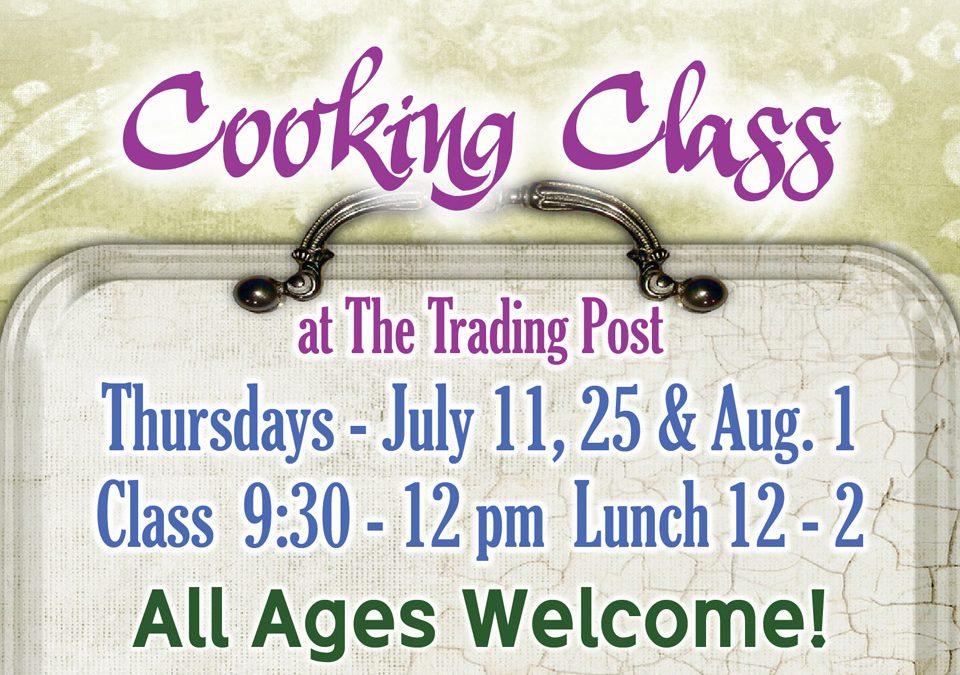 Summer Cooking Class