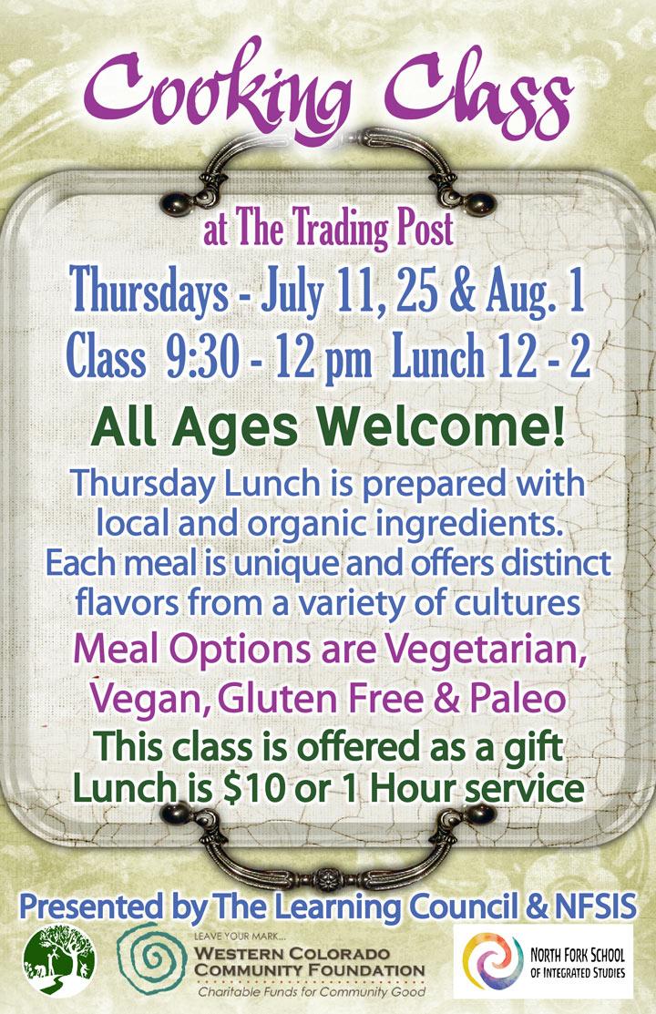 Summer Cooking Class poster